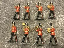 lead soldiers band menbers fusiliers x8