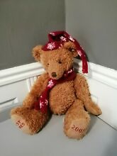 russ berrie teddy bear past times soft toy 2003