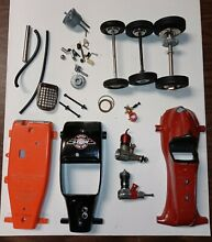 tether car assorted parts