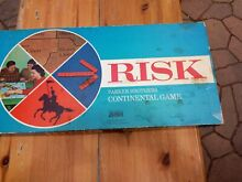 risk 1959 1963 board game wooden pieces