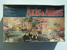 axis allies board game axis allies by mb gamemaster series