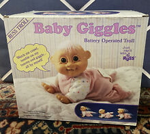 russ berrie russ baby giggles battery operated