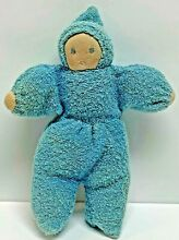 waldorf style baby doll plush terry cloth