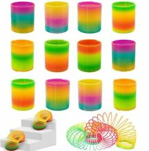 slinky kids rainbow colored multicolor toy