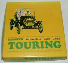 touring game 1965 toltoys automobile card game