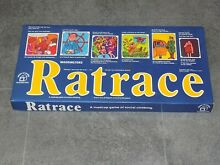 waddingtons ratrace 1973 ratrace board game by