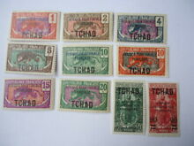 chad valley chad 1922 27 a small collection mnh