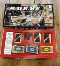 waddingtons ratrace 1984 board game collectable rat
