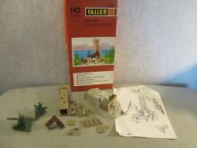 faller ho scale 285 ruined tower castle