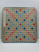 scrabble deluxe replacement board raised