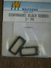 walthers ref 933 977 black rubber diaphragms