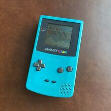 pay day game teal blue gameboy color 100 genuine