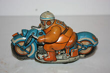 tin motorcycle toy race cycle 55