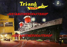 minic motorways triang minic ships 1962 ss united