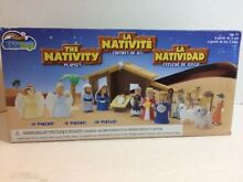 jesus action figure the nativity playset bible toys