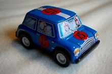 metal tin toy friction new 3 blue