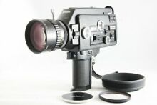 Super 8mm Movie Camera W Hood From