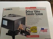 Ambico Deluxe System Vhs 8mm Vhs C