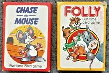 arrow games lot 2 x card games folly chase