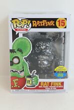 rat fink funko pop 15 chrome limited edition