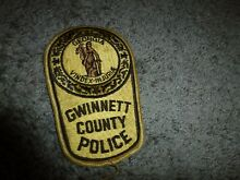 vindex large gwinnett county police patch