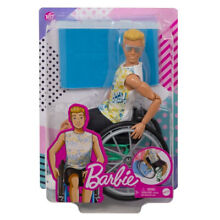 ken barbie doll fashionista wheelchair