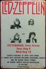 zeppelin led pittsburgh civic arena rusty