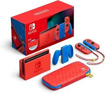 nintendo switch mario red blue edition red