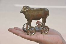 penny toy early french golden penny sheep on