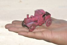 penny toy pink small penny train engine tin