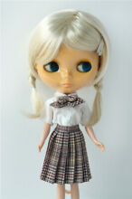 luts 10 11 inch doll hair lady ponytail