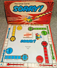 sorry game sorry board game waddingtons 1969