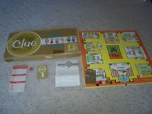 board game 1949 1950 clue game incomplete