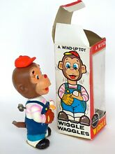 alps monkey wind up toy never played