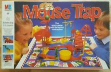 mouse trap game 1986 mb games mouse trap board game