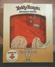 teddy ruxpin sleeping outfit in box worlds