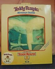 teddy ruxpin winter outfit new in box worlds