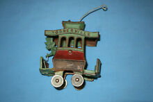 toonerville cast iron trolley by dent hardware