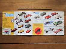 scalextric 1960 accessory catalogue model
