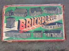 1950 s brick player toy building kit no