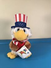 uncle sam olympic eagle 1980 wallace berrie