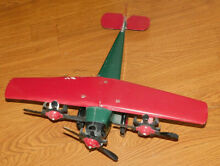 steelcraft neat large pressed steel airplane