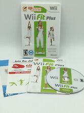 wii fit plus wii 2009 complete tested works