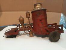 kingsbury pressed steel fire truck for parts