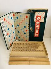 spears game spears 1950 s scrabble game board