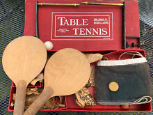 chad valley table tennis set presumed 1940 s