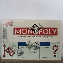 go for it parker monopoly board game parker brothers