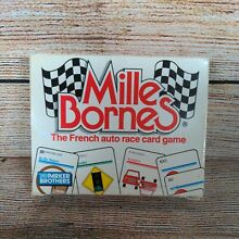 mille bornes 1982 french auto race card game