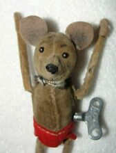 schuco wind up mouse mickey key ec works