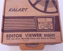 Kalart Viewer Eight For 8mm Movies